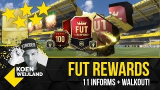 11 IN FORMS + WALKOUT!! | WEEKEND LEAGUE TOP50 REWARDS! | KOEN WEIJLAND