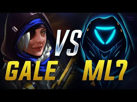 ML7 VS GALE - ANA GODS - Overwatch Montage thumbnail