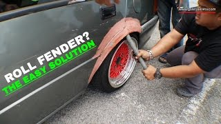 Rolling Fenders - Quick, Easy, And Free! | Proton Saga