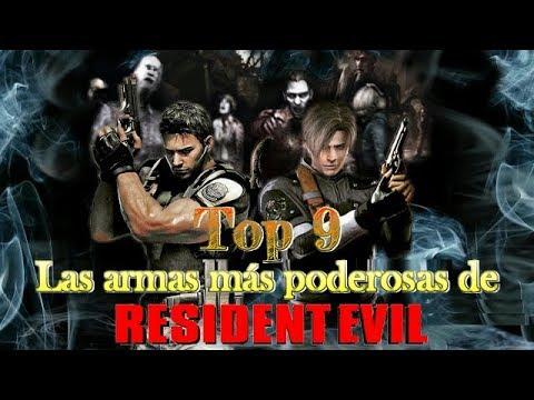 Top 9: Las armas más poderosas de Resident Evil