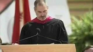 Steve Jobs' 2005 Stanford Commencement Address(Drawing from some of the most pivotal points in his life, Steve Jobs, chief executive officer and co-founder of Apple Computer and of Pixar Animation Studios, ..., 2008-03-08T01:17:20.000Z)