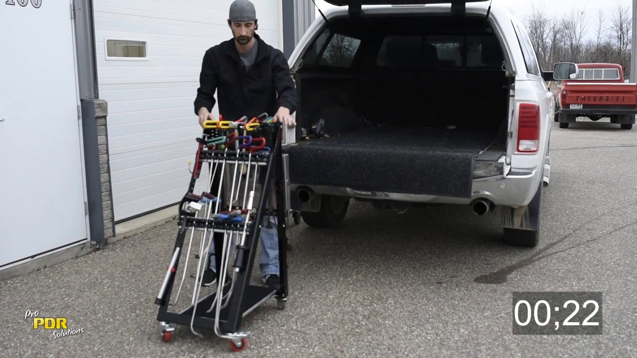 Pro PDR Solutions A-Frame Tool Cart - YouTube