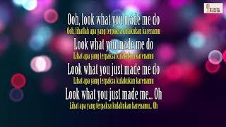 Video Look What You Made Me Do Taylor Swift Lyric dan Terjemahan Indonesia download MP3, 3GP, MP4, WEBM, AVI, FLV Agustus 2018