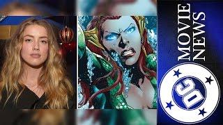 Amber Heard in Aquaman?, The Killing Joke & More   DC Movie News for January 13th, 2016