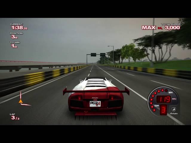 PGR4 Macau Lamborghini Murcielago