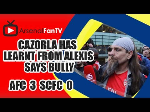 Cazorla Has Learnt From Alexis says Bully - Arsenal 3 Stoke City 0