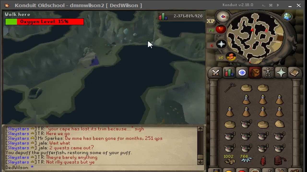 OSRS: Swimming 45k Agility, 165k Thieving Xp/hr (235 Tears)
