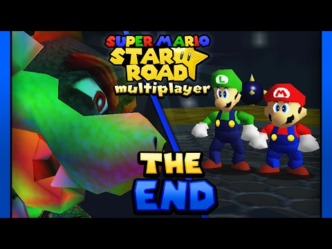 Download Super Mario Star Road: Multiplayer - FINALE: Bowser's Rainbow Rumble! (2 Player)
