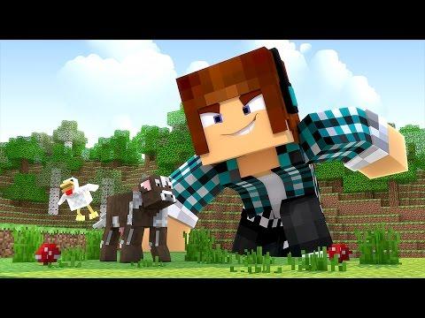 Minecraft: VIREI UM GIGANTE !! ( Pequenos Gigantes #07)