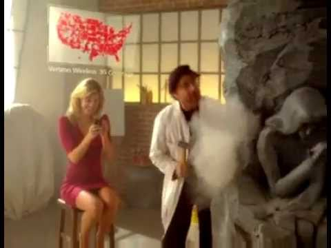 Verizon (Big Red) commercial w/ Classic Jingle. 2010