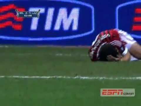 André Dias vs Van Bommel (Boxing Knockout) Milan vs Lazio