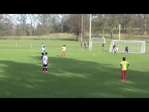 AFC Telford U16s vs Trialists (Lilleshall 16/2/16)