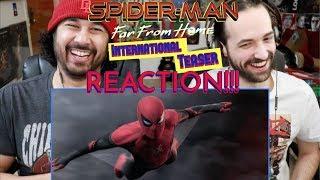 SPIDER-MAN: FAR FROM HOME | International Teaser TRAILER - REACTION!!!