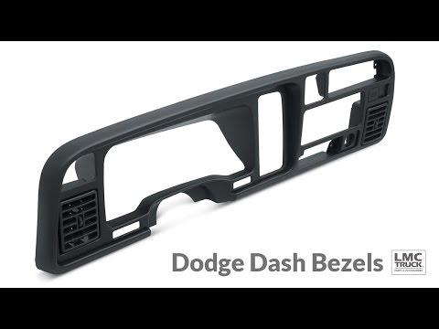LMC Truck: Dash Bezels For Dodge Trucks