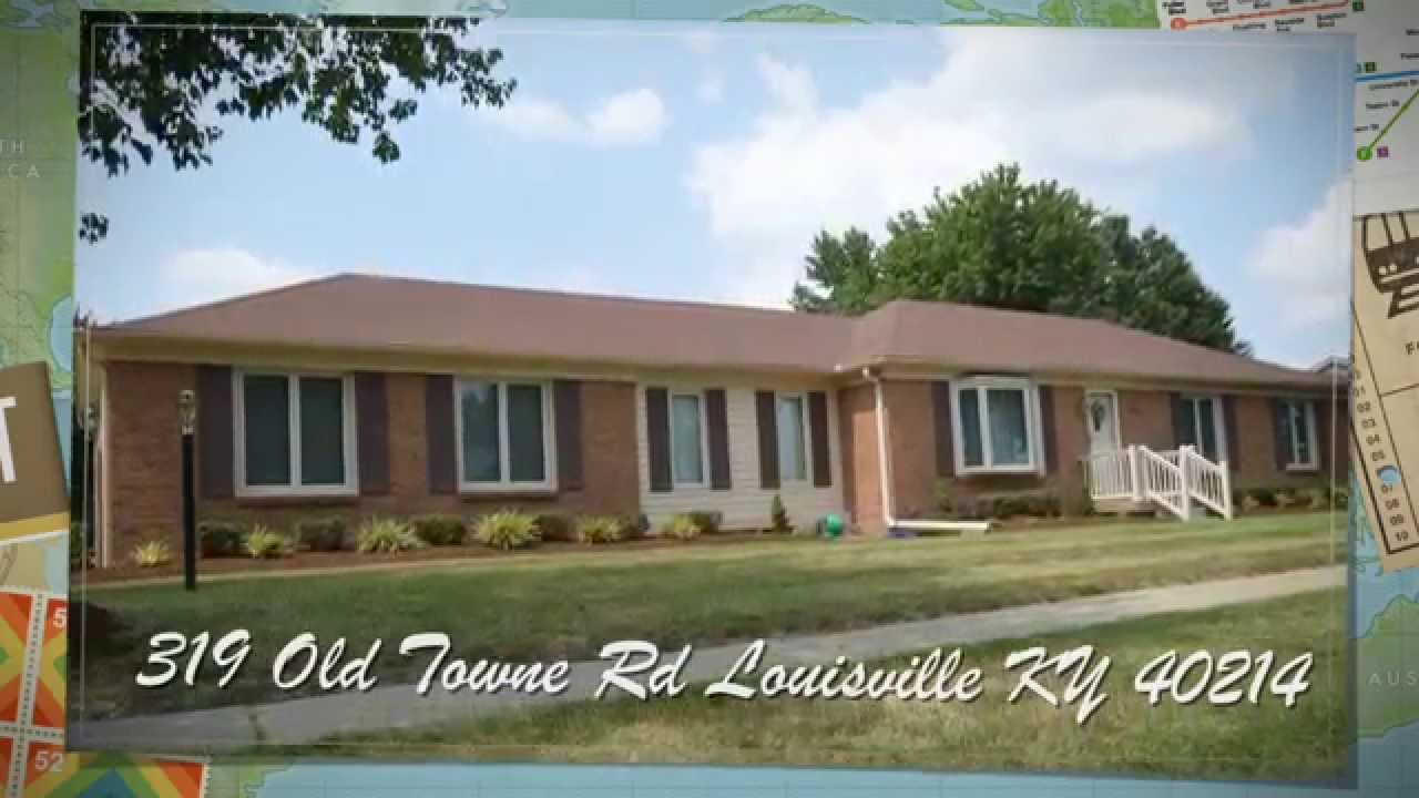 319 Old Towne Rd Louisville KY 40214 Home For Sale   YouTube
