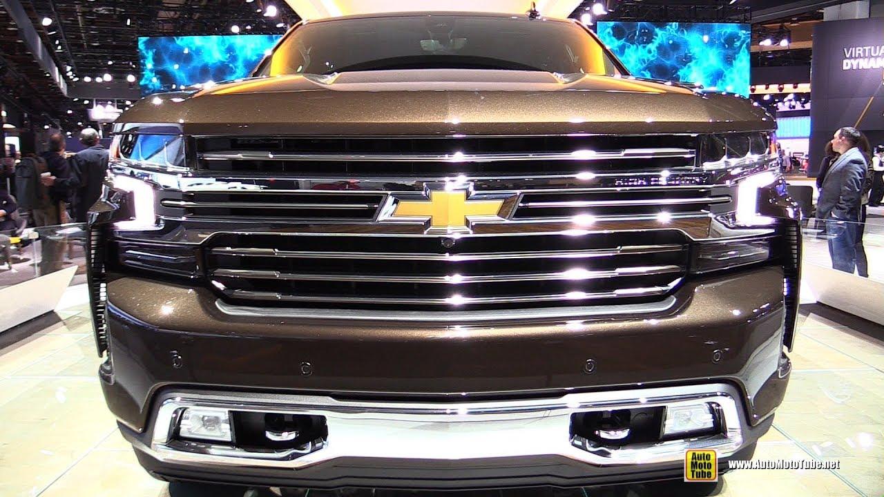 2019 Chevrolet Silverado High Country - Exterior and ...