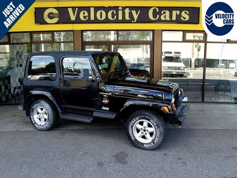 1997 Jeep Wrangler Hardtop 4WD 96Ku0027s Low Mileage For Sale In Vancouver, BC,  Canada