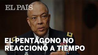 Un jefe militar denuncia que el Pentágono demoró el envío de soldados al asalto al Capitolio