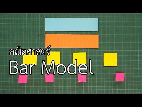 Bar Model : คณิตคิดสนุก คณิตฯ ป.1-ม.2