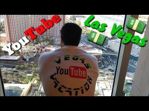 Walking The Las Vegas Strip 2018: 3 YouTubers Luxury Suite Vacation