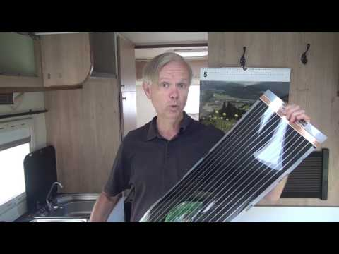 Underfloor heating foil : will it work in a motorhome?