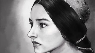 켄쉬 kensh) ipad procreate app -speed painting Romeo And Juliet , 1968  [Olivia Hussey | Olivia Osuna]