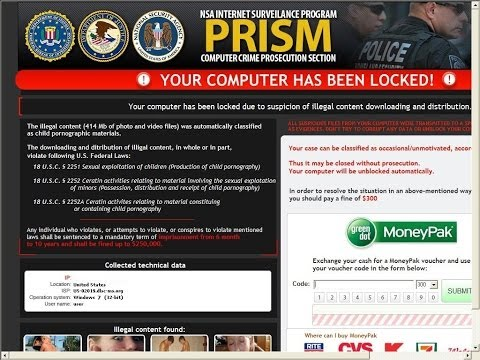 National Security Agency Virus Removal Tips