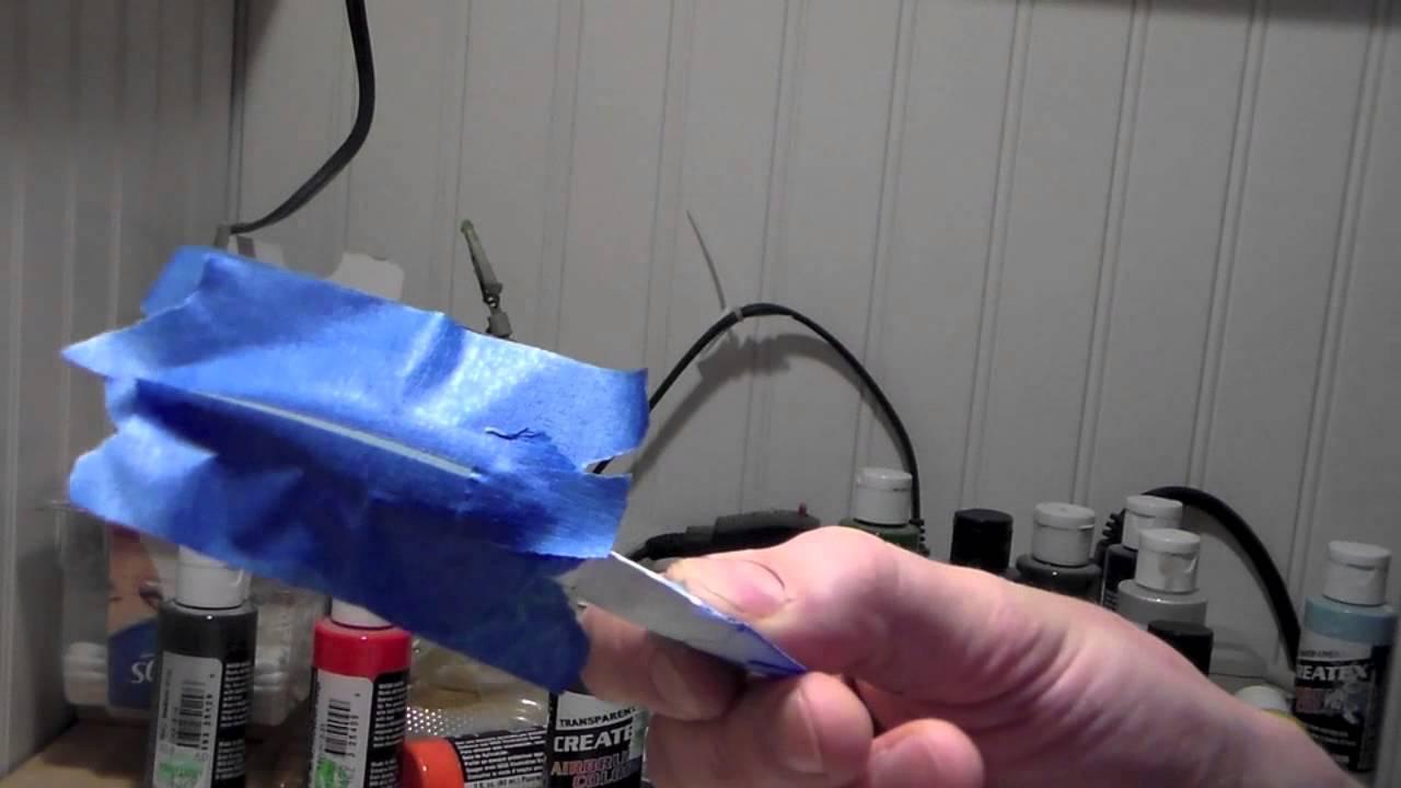 How to custom paint a shad bait