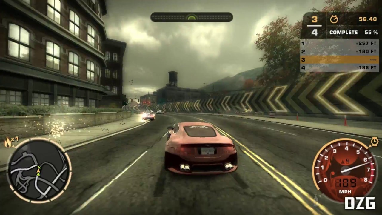 Need For Speed: Most Wanted Widescreen Fix Gameplay - Thủ thuật máy