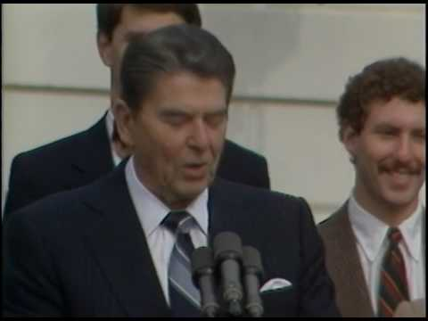 President Reagan's Remarks to Medical Students from St. George's University on November 7, 1983