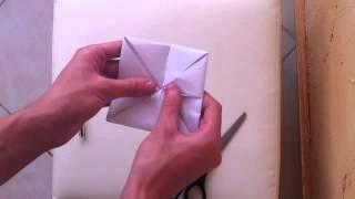 Faire une cocotte en papier:  Pliage cocotte - Faire un Origami cocotte
