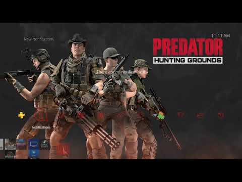 Predator: Hunting Grounds Pre Order Dynamic Theme Playstation 4