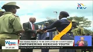 700 young people to be employed by Kericho county government as security personnel