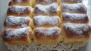 Fluffige Marmeladenröllchen/ soft rolls