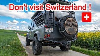 Don't visit Switzerland - Cost of a road trip in Switzerland (how much money) screenshot 2