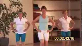 La marche active chez soi, renforcement musculaire - Cours fitness complet