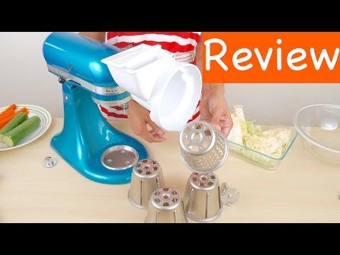 Kitchenaid Attachments Cheese Grater kitchenaid rvsa slicer/shredder attachment for stand mixers review