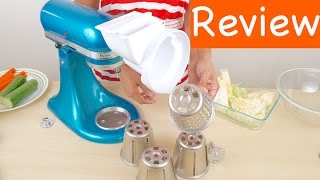 KitchenAid RVSA Slicer/Shredder Attachment for Stand Mixers Review