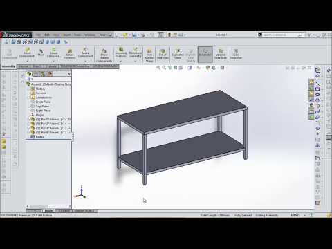 SolidWorks 2018 Tutorial Sheet Metal Flat table 1800x750x850mm with lower  price