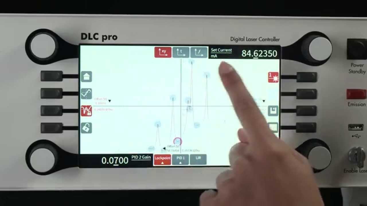 DLC pro - Digital Controller for Diode Lasers