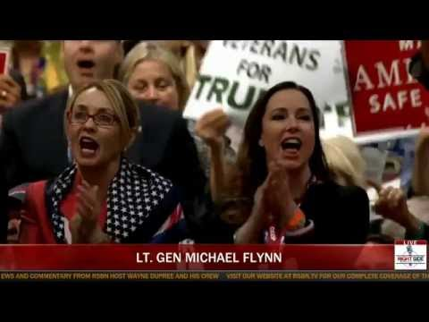 'LOCK HER UP!': Lt. Gen Michael Flynn Calls on Crooked Hillary to Drop Out