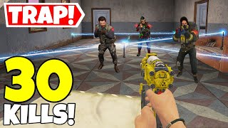 TRAP MASTER VS LEGENDARY SQUADS IN CALL OF DUTY MOBILE BATTLE ROYALE!