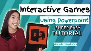 INTERACTIVE GAMES USING POWERPOINT   EASY TUTORIAL screenshot 5