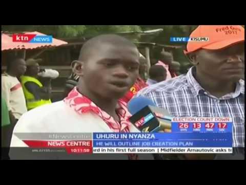 Kisumu residents on their expectations ahead of President Uhuru's visit