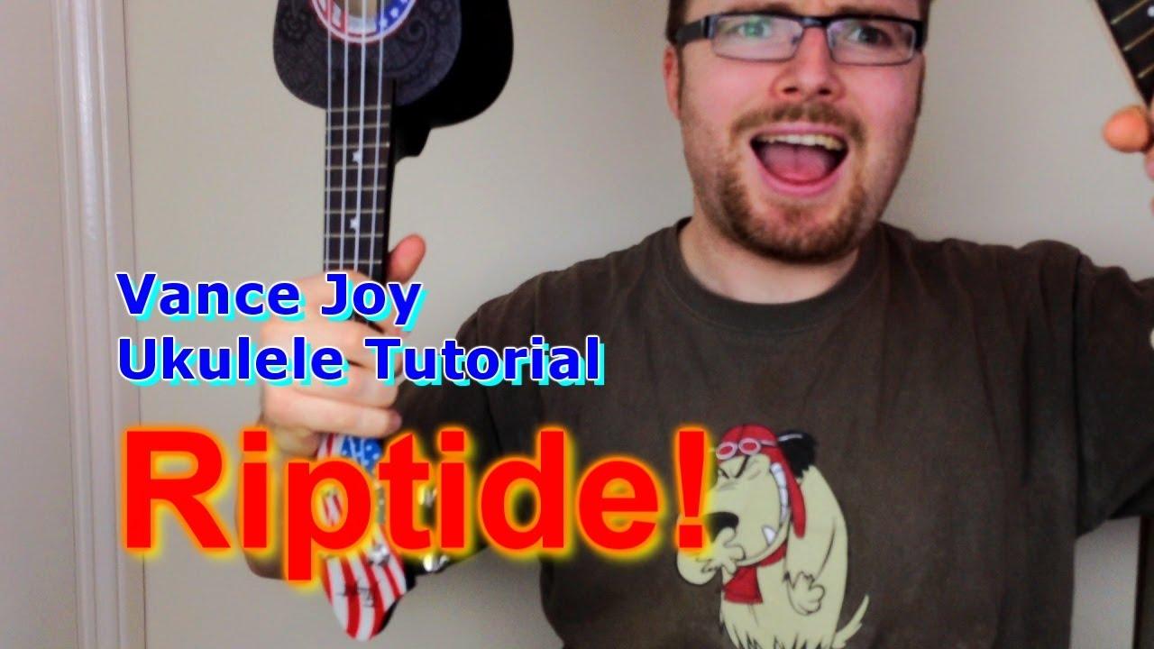 Riptide Vance Joy Ukulele Tutorial Youtube How To Read Chord Diagrams
