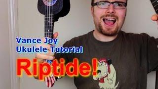 vuclip Riptide - Vance Joy (Ukulele Tutorial)