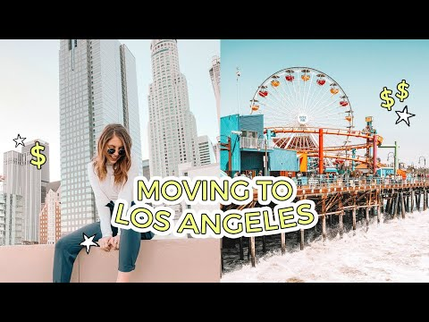 TRUTH ABOUT MOVING TO LA! Tips, Budget, Cost Of Living, Making Friends, & MORE
