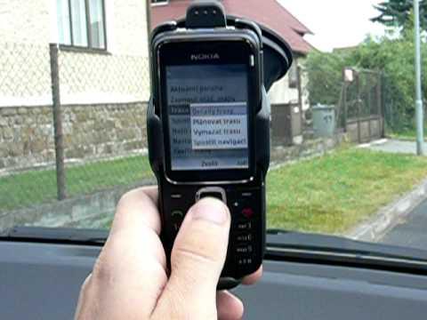 Nokia 2710 Navigation - navigace v akci