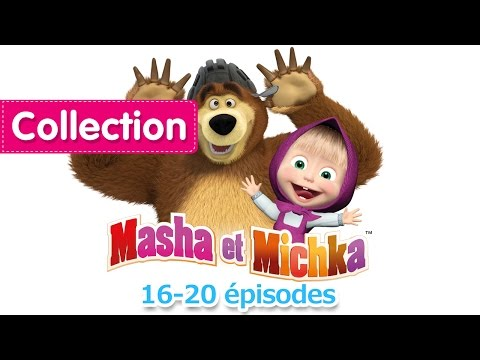 Masha et Michka - Сompilation 7 (20 minutes) Dessins animés en Français 2017!