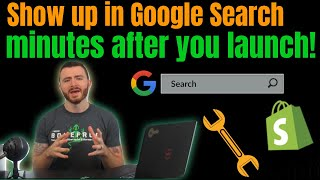 How To Set Up Google Search Console For Shopify | Show Up In Google Search Results On Launch Day